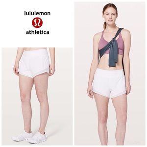 Lululemon Gait Keeper Shorts - white